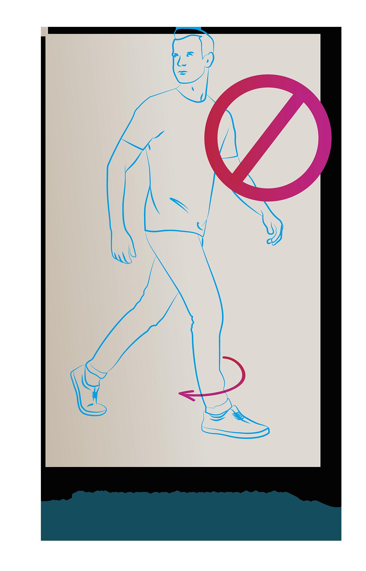 przy sztucznym biodrze nie wolno rotowac nogi do srodka