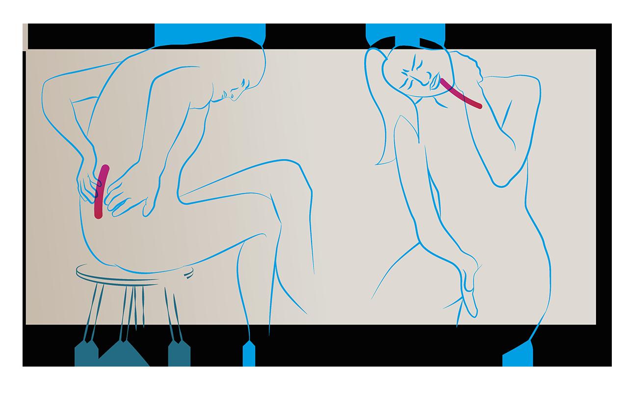 bol podczas siedzenia bol karku rano dyskopatia