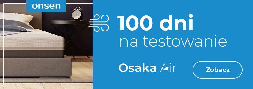 materac na kregoslup z mozliwoscia testowania 100 dni