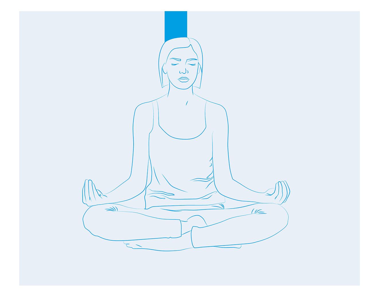 medytacja wplyw na sen